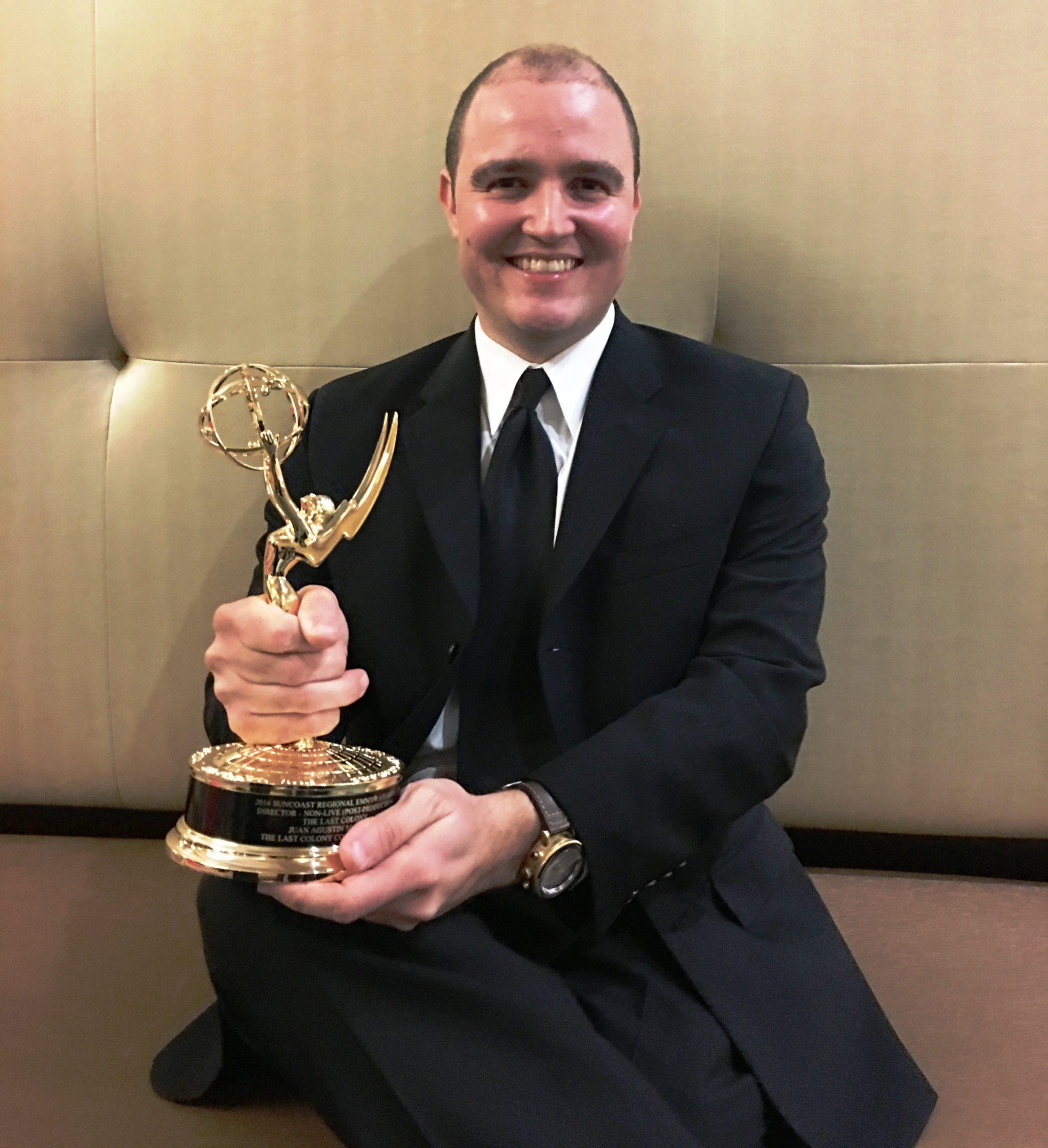 El cineasta dedicó el galardón otorgado a Oscar López Rivera. (Foto suministrada)