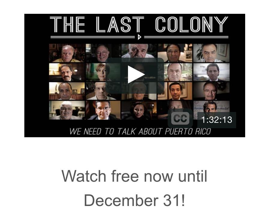 Promoción de exhibición gratuita del documental ganador a través de internet. (Foto suministrada)