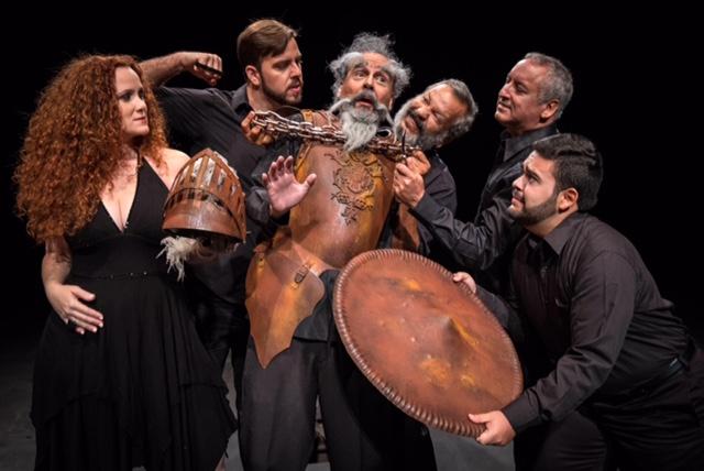 UPR Teatro Repertorio presents Man of La Mancha directed by Edgar Garcia . Photo session at University of Puerto RIco, Rio Piedras Campus Theater. (Photos © J. Perez-Mesa / 2015)