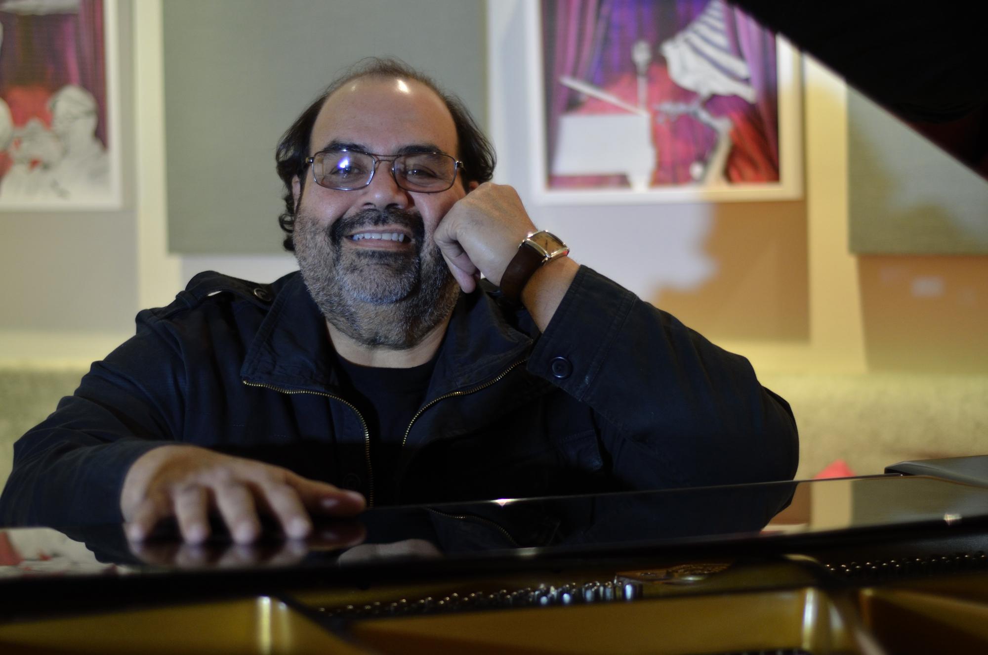 El pianista ya cuenta con numerosas producciones realizadas independientemente para el mercado discográfica. (Foto suministrada)
