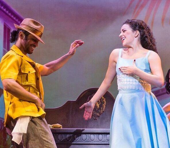 """""""On Your Feet"""" es uno de los créditos más recientes de Luis Salgado (izquierda) en las carteleras de Broadway. (Foto suministrada)"""
