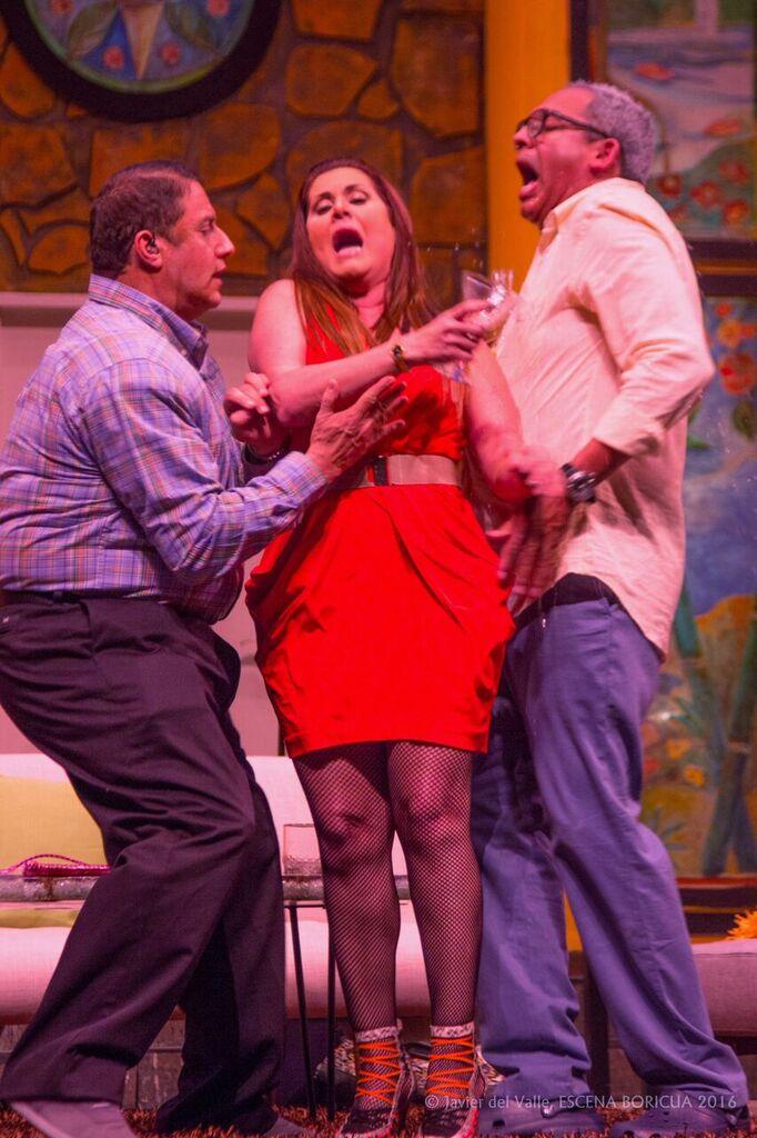 Red Shadow, Deddie Romero y Herbert Cruz. (Foto Javier del Valle / Escena Boricua)