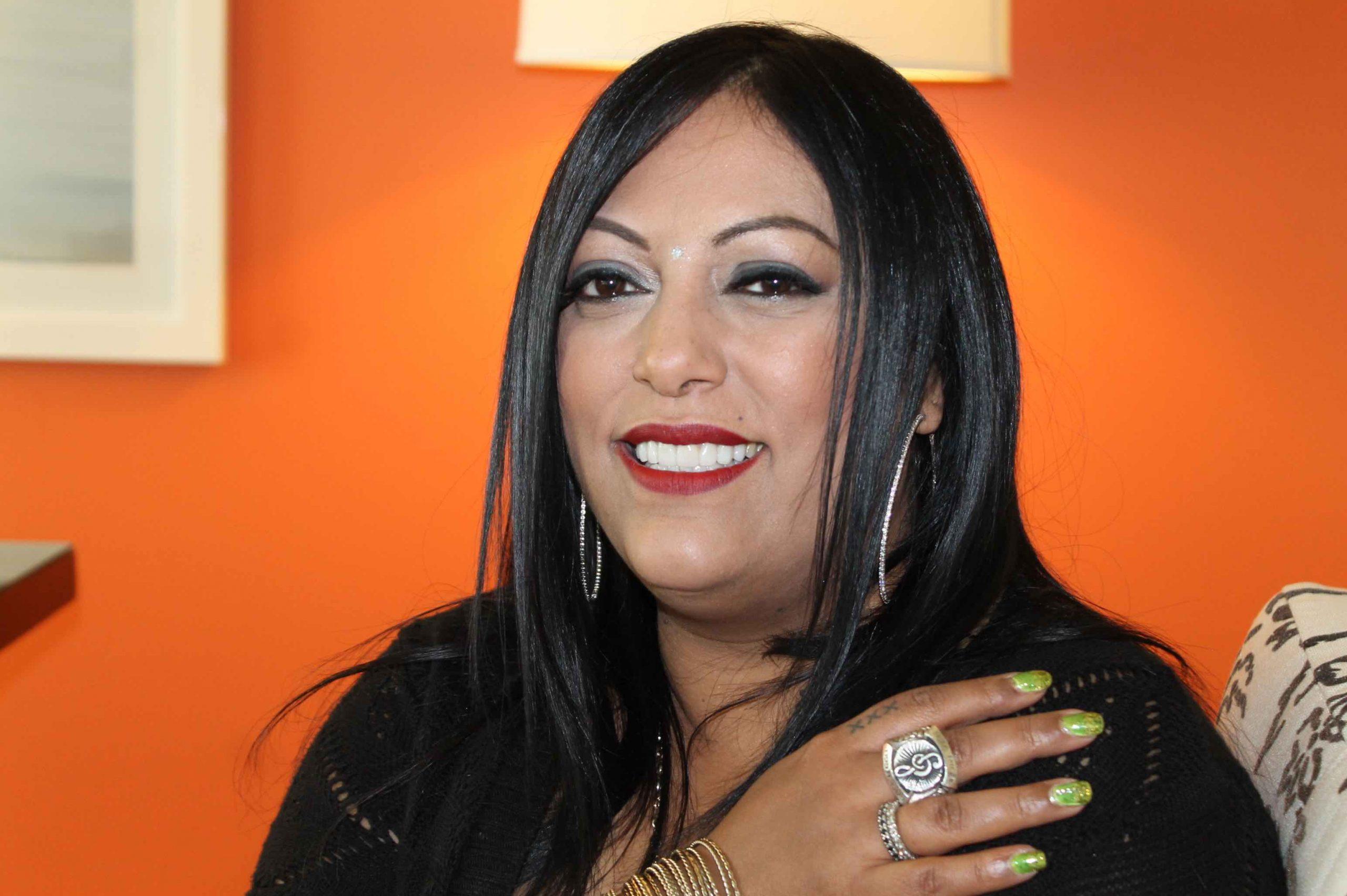 Sergio George ha vuelto a producir a la cantante. (Foto Edgar Torres para Fundación Nacional para la Cultura Popular)