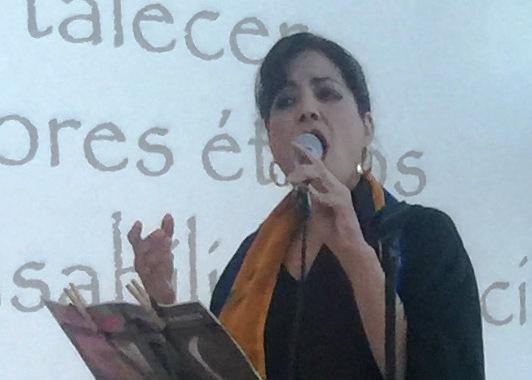 La soprano Indira Maneiro marcó momentos de emotivad musical. (Foto Alina Marrero para Fundación Nacional para la Cultura Popular)