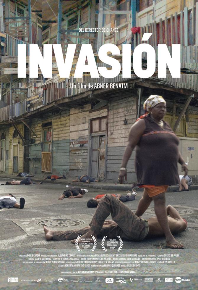 """""""Invasión"""", documental de Abner de Panamá, se presenta el sábado. (Foto suministrada)"""