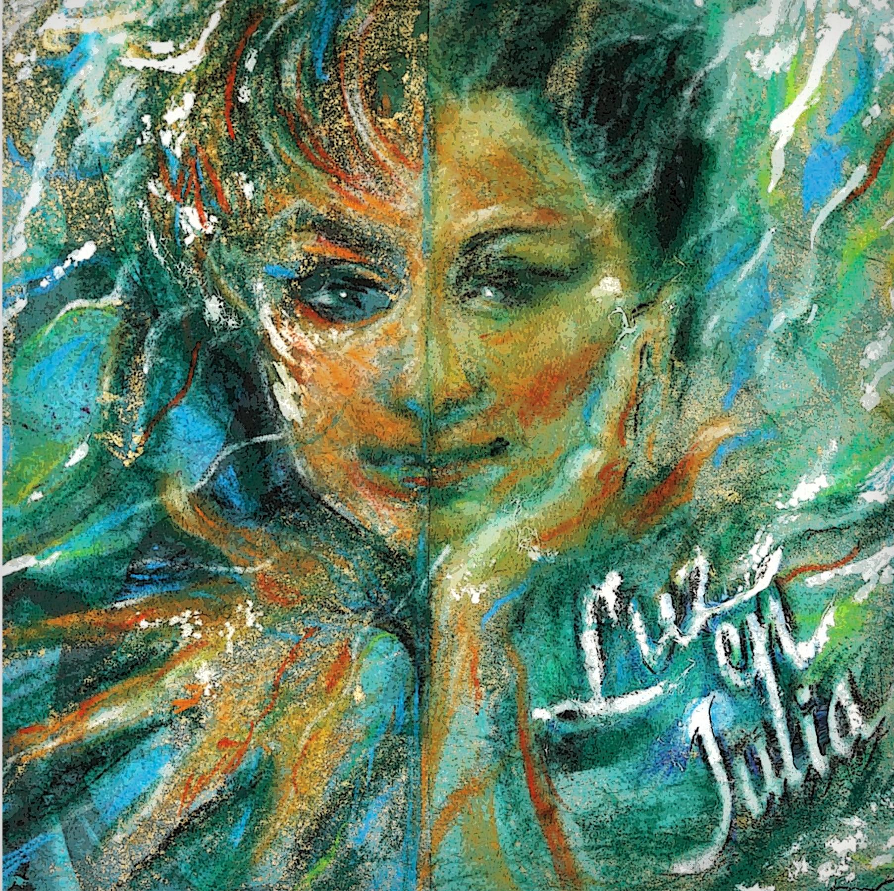 """""""Luz en Julia"""" cuenta con arte de Antonio Martorell."""