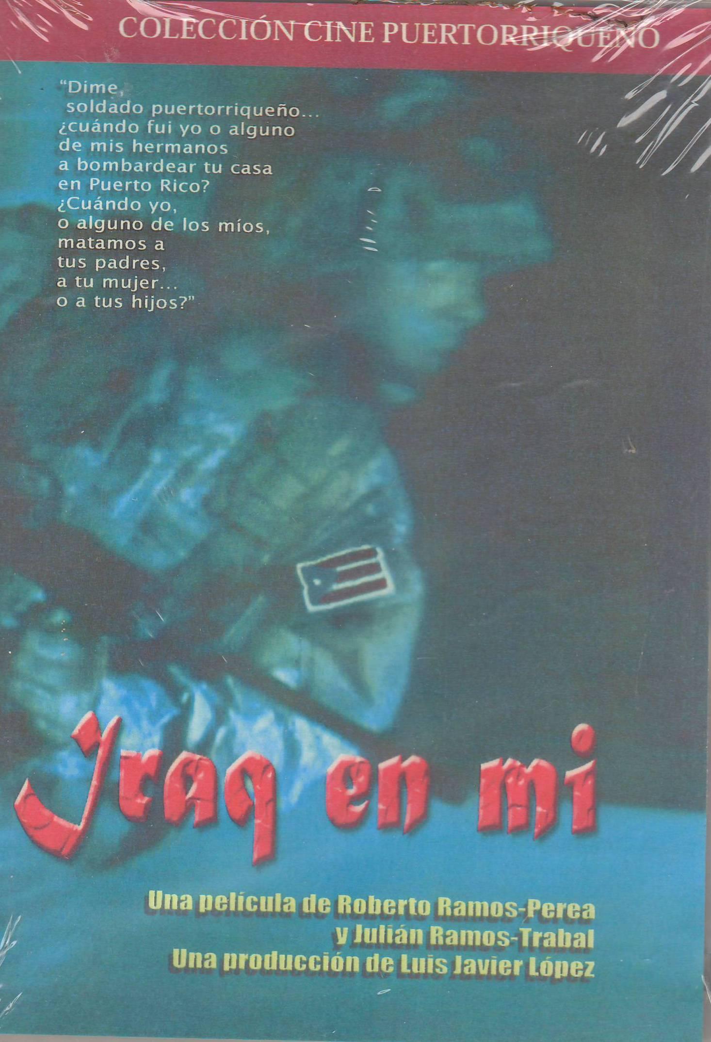 """El actor trabajó en la película """"Iraq en mí"""" de Roberto Ramos-Perea."""