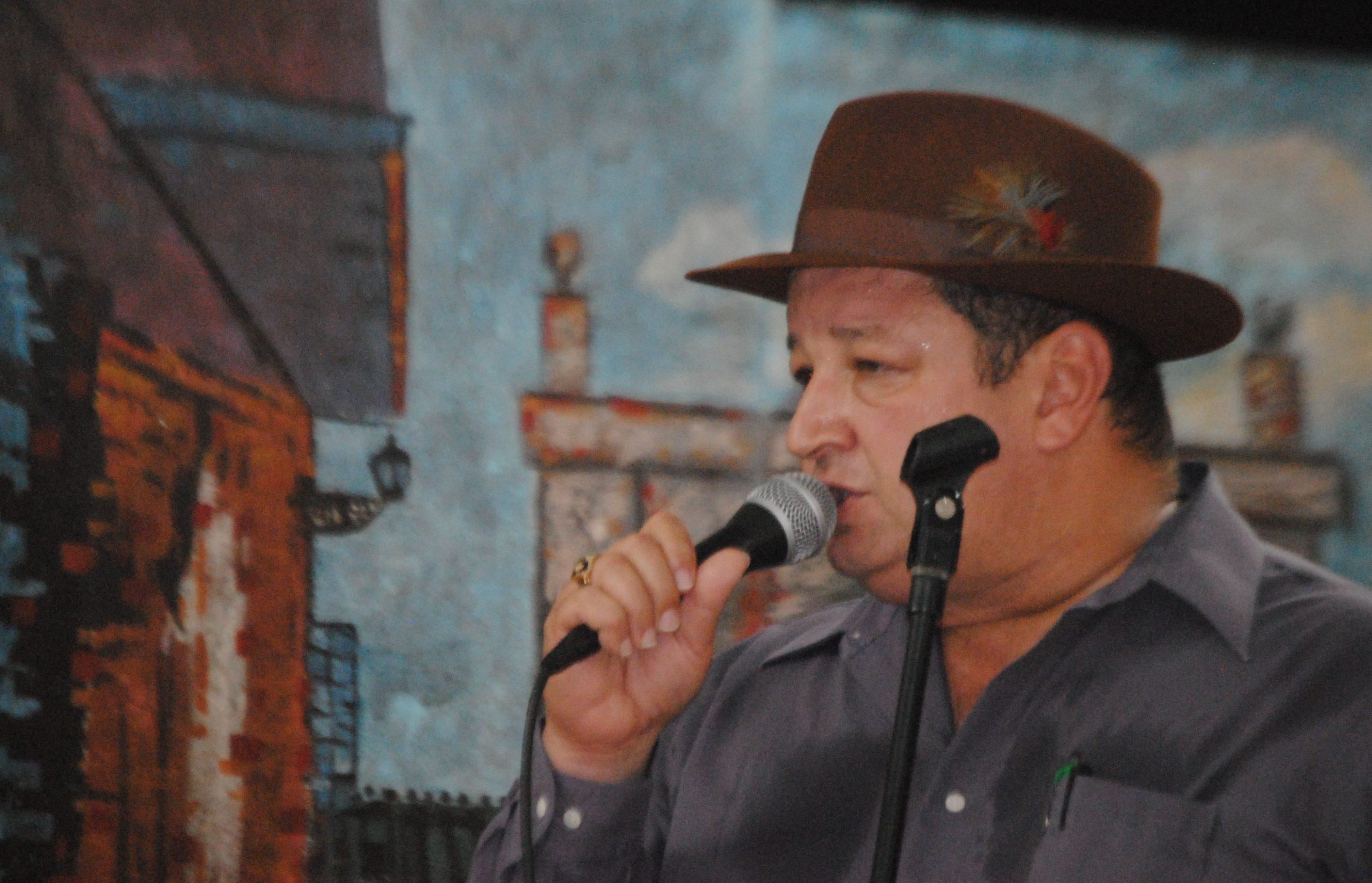 Jovino González ofreció su Promesa de Reyes por la liberación de López Rivera. (Foto Jaime Torres Torres para Fundación nacional para la Cultura Popular)