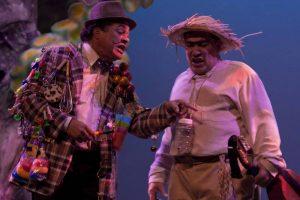"""El personaje de Juan Bobo protagonizó la obra """"Sin cuatro no hay Navidad"""" de Inneabelle Colón en xx. (Foto suministrada)"""