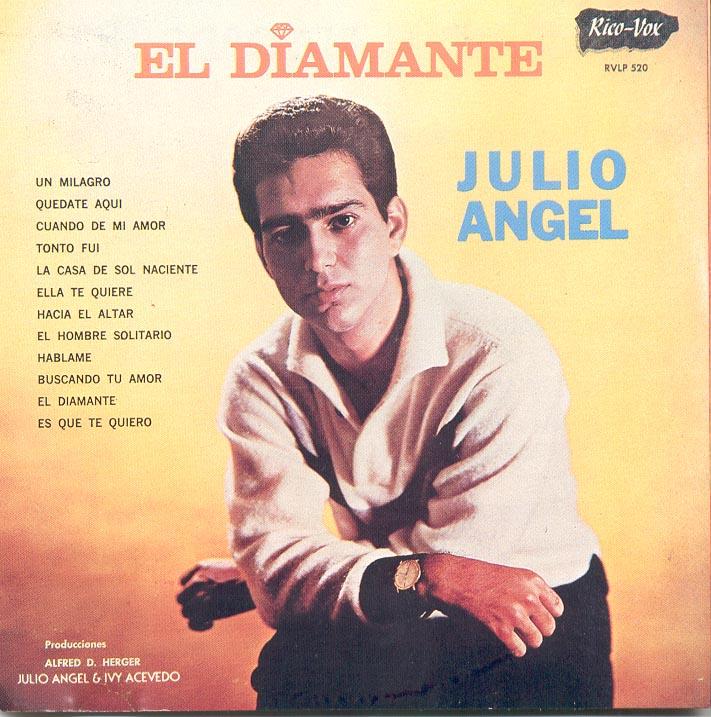 """En 1965 """"El Diamante"""" catapultó a Julio Ángel a primeros planos de la popularidad. (Archivo Fundación Nacional para la Cultura Popular)"""