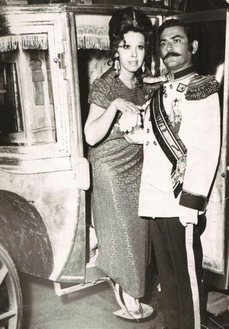 """""""La Corista y el Príncipe"""" fue protagonizada por Sandra Rivera y Juan Carlos Santacruz en el Teatro Tapia en 1971. (Foto suministrada)"""