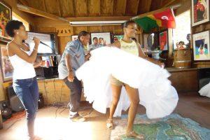 La participación de Dulce Coco formó parte de las actividades pautadas para la cdelebración. (Foto suministrada)