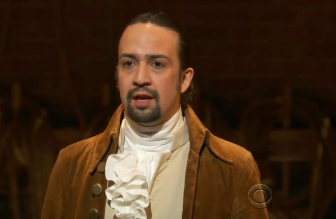 """Con """"Hamilton"""" el actor y dramaturgo ha adquirido notoriedad mundial por su trabajo de excelencia. (Foto pantala CBS)"""