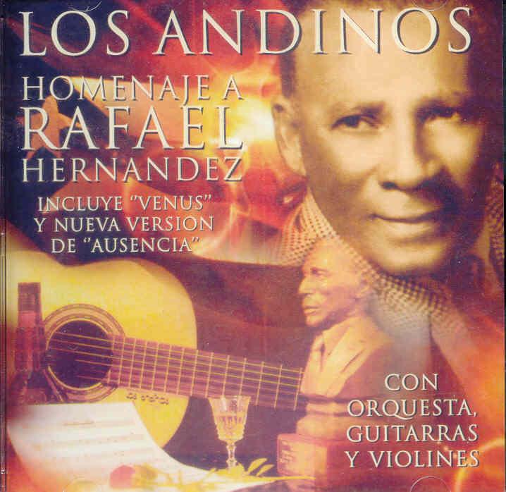 La producción homenaje a Rafael Hernández de Los Andinos con Carmín Vega aúnse encuentra accesible en el mercado. (archivo Fundación Nacional para la Cultura Popular)
