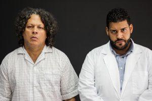 """Luis Enrique Romero y Reinaldo Santana en la producción de 2013, """"UNA SESION na sesión especial""""( Foto suministrada)"""