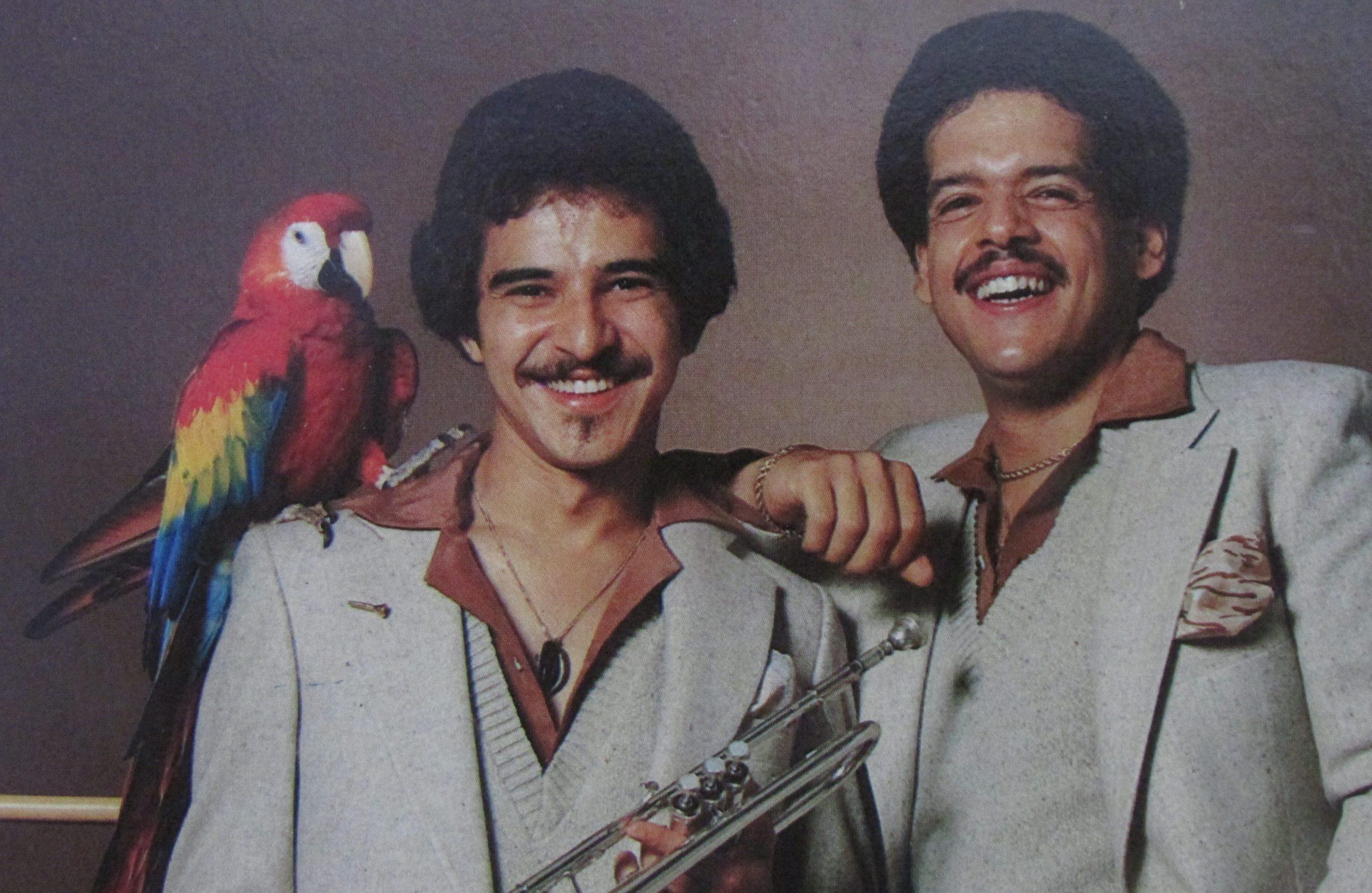 """Rafael de Jesús (derecha) puso voz al clásico """"Julián del Valle"""" que produjera Luis """"Perico"""" Ortiz. (archivo Fundación Nacional para la Cultura Popular)"""