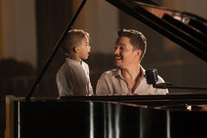 El joven cantante Manolo Ramos participa por tercera vez en un especial del Banco Popular. (Foto suministrada)
