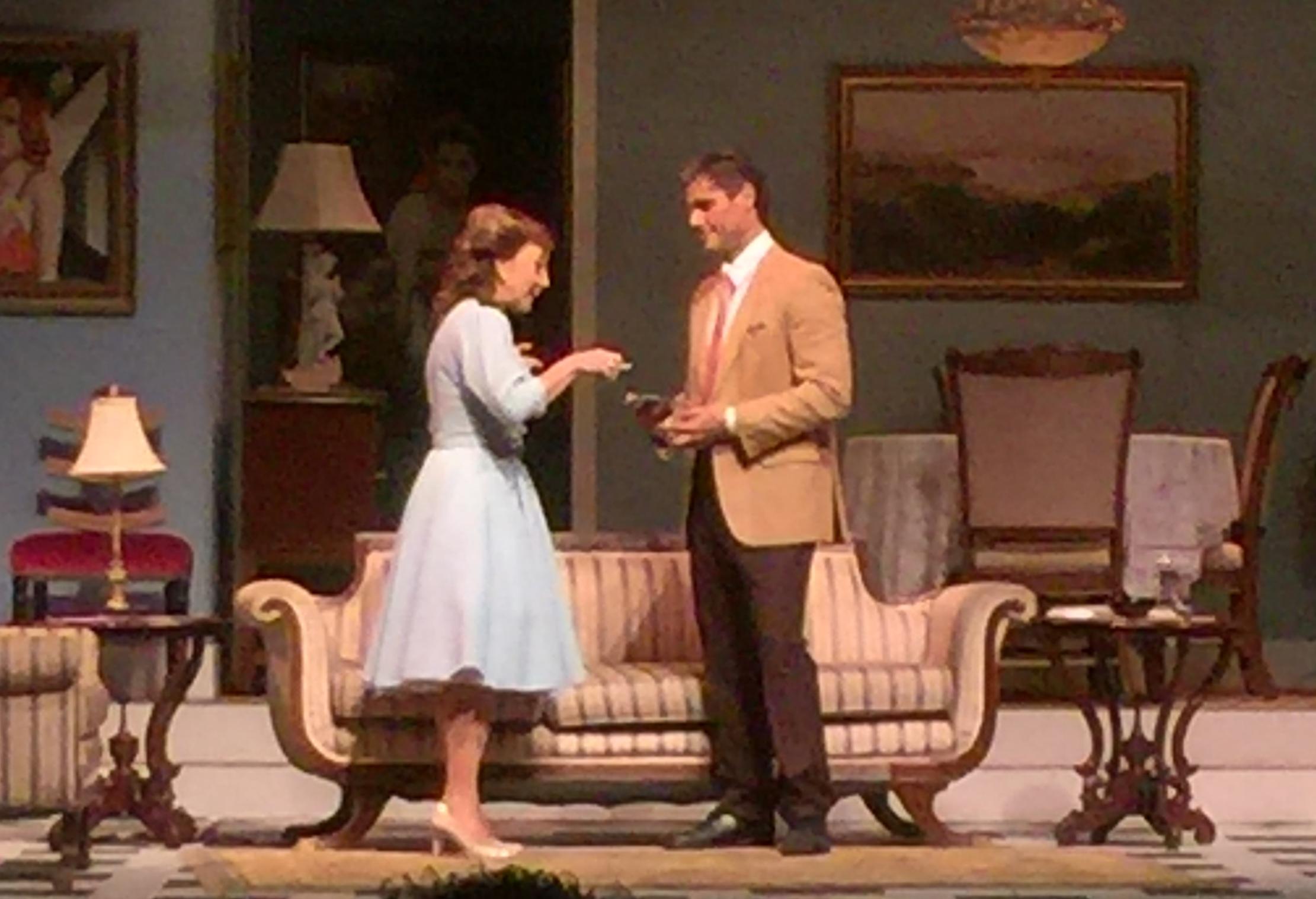 Cordelia González y Jimmy Navarro encabezaron el elenco de la pieza teatral. (Foto Alina Marreropara Fundación Nacional para la Cultura Popular)