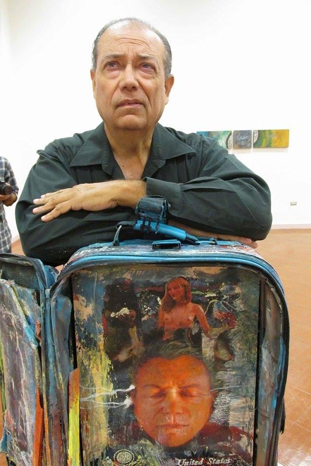 El artista Miguel Consea Osuna participará en el junte. (Foto suministrada)