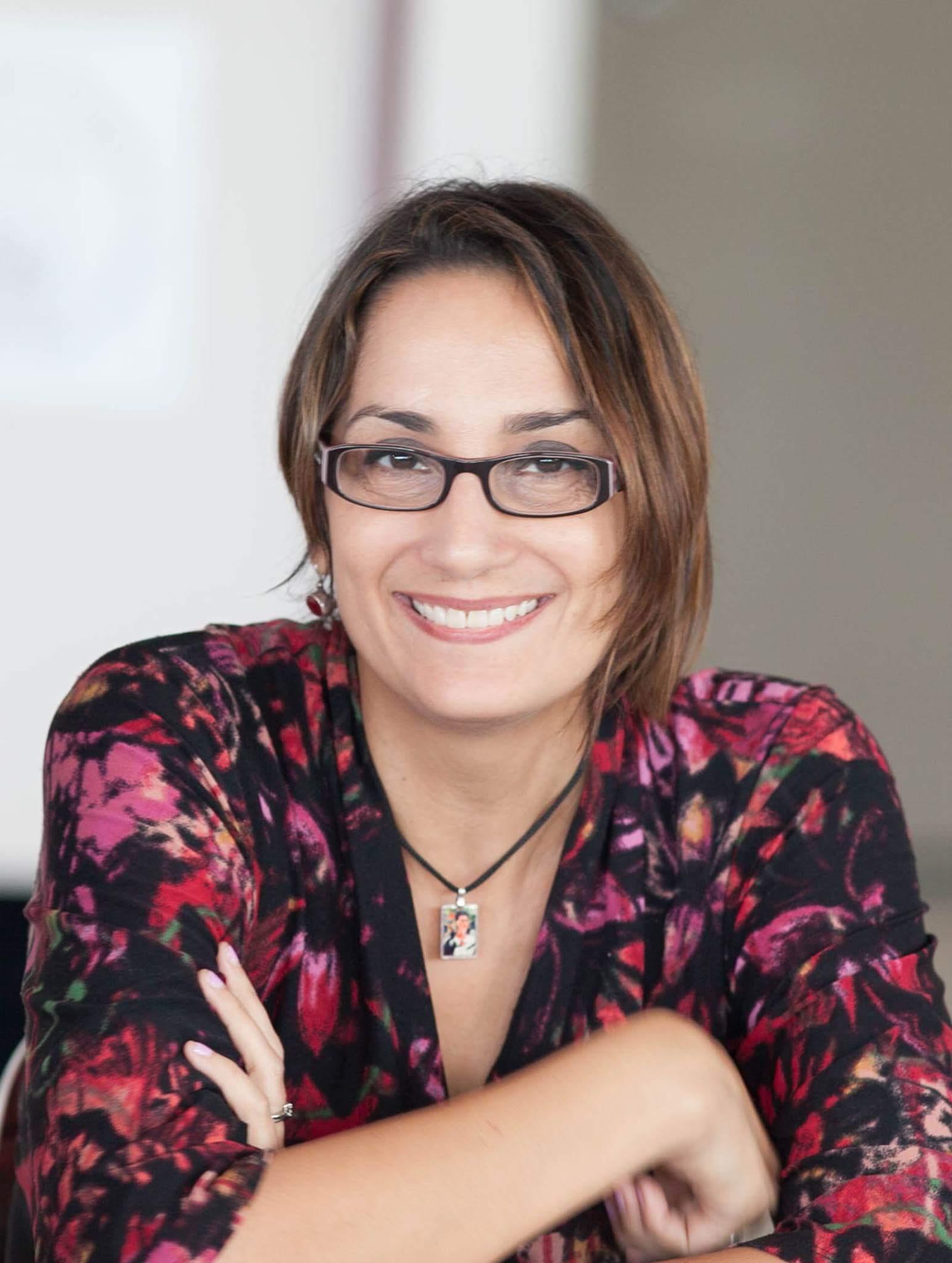 """La doctora Mónica Lladó Ortega ha puesto en marcha la propuesta de """"Sinestesia"""". (Foto Gregory Bermúdez)"""
