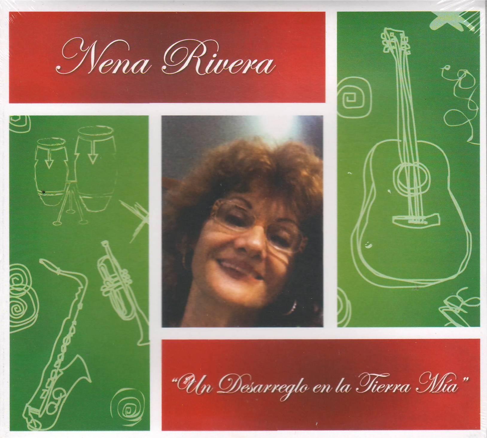 """Carátula del; disco """"Un desarreglo en la tioerra mía"""" de Nena Rivera. (archivo Fundación Nacional para la Cultura Popular)"""