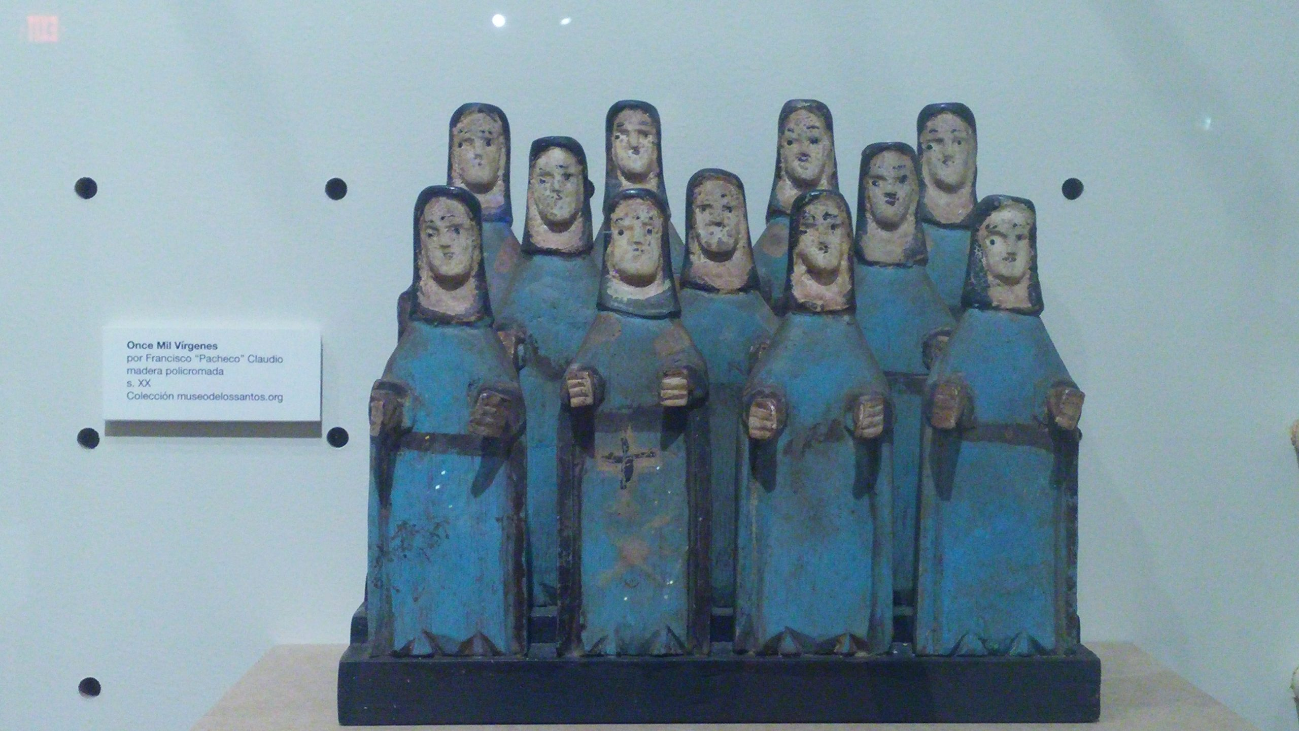 Las Once Mil Vírgenes de Francisco Pacheco Claudio se exhibe en la exposición. (Foto Gabriela Oriz para Fundación Nacional para la Cultura Popular)