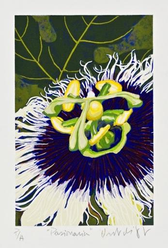 """Pasionaria"" (1988) del artista Osvaldo de Jesús Cruz."