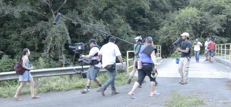 La película fue filmada en escenarios naturales del municipio de Barranquitas. (Foto suministrada)