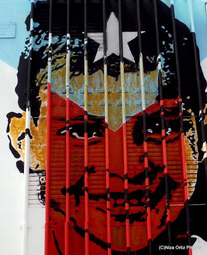 Pieza del artista puertorriqueño Abey. (Foto Niza Ortiz)