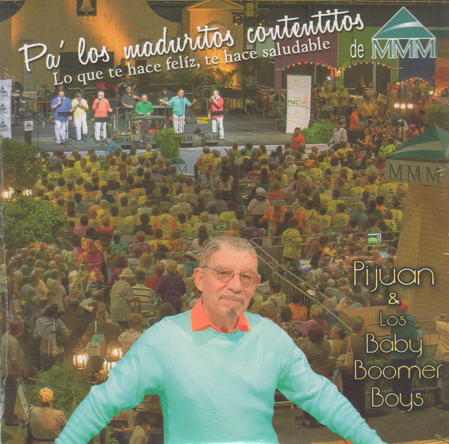 Producción que se acaba de editar de Pijuan y Los Baby Boomer Boys para el próximo domingo.