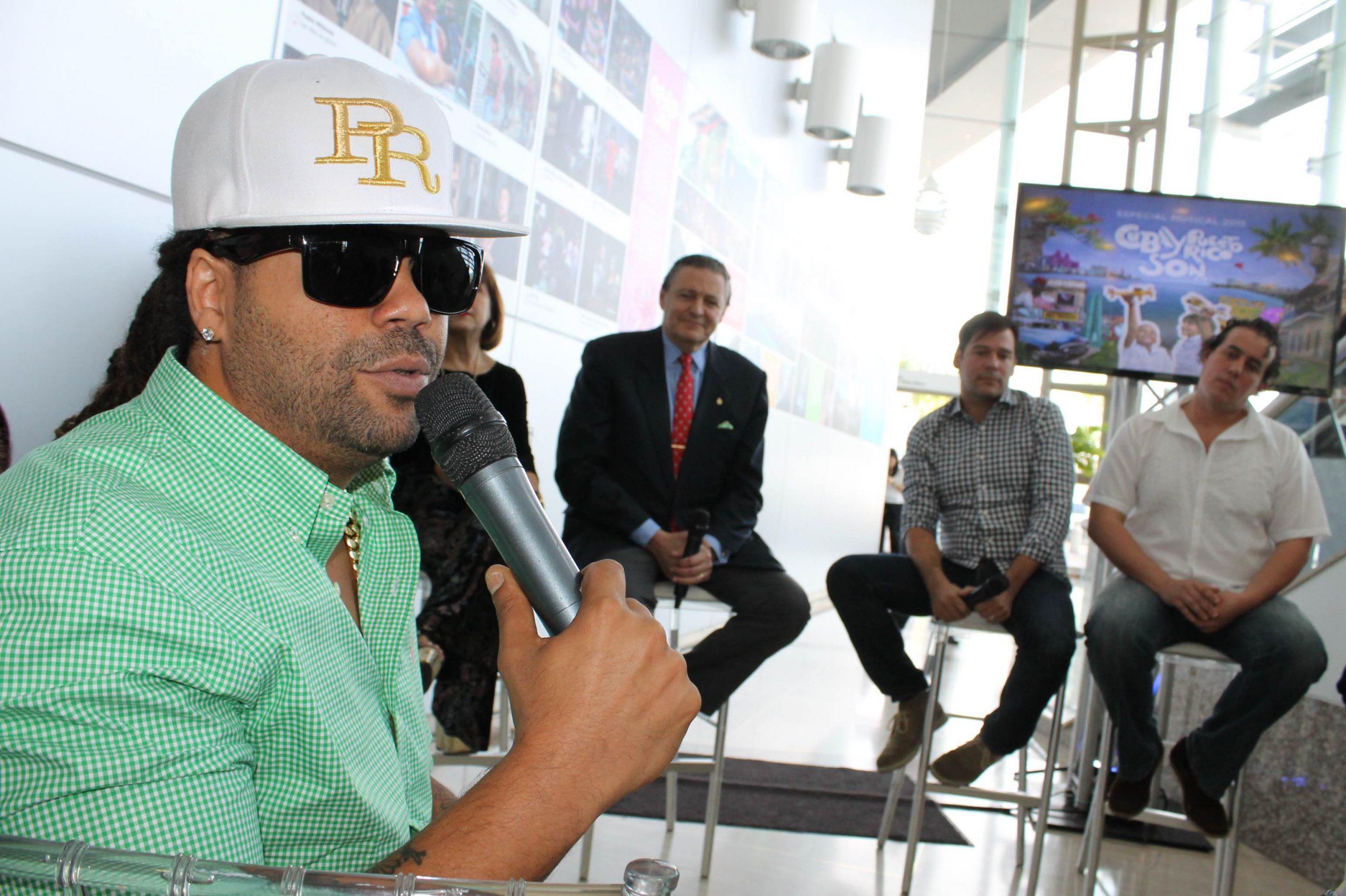 Pirulo agradeció la oportunidad de volver a participar en un especia de la entidad. (Foto Edgar Torres para Fundación Nacional para la Cultura Popular)