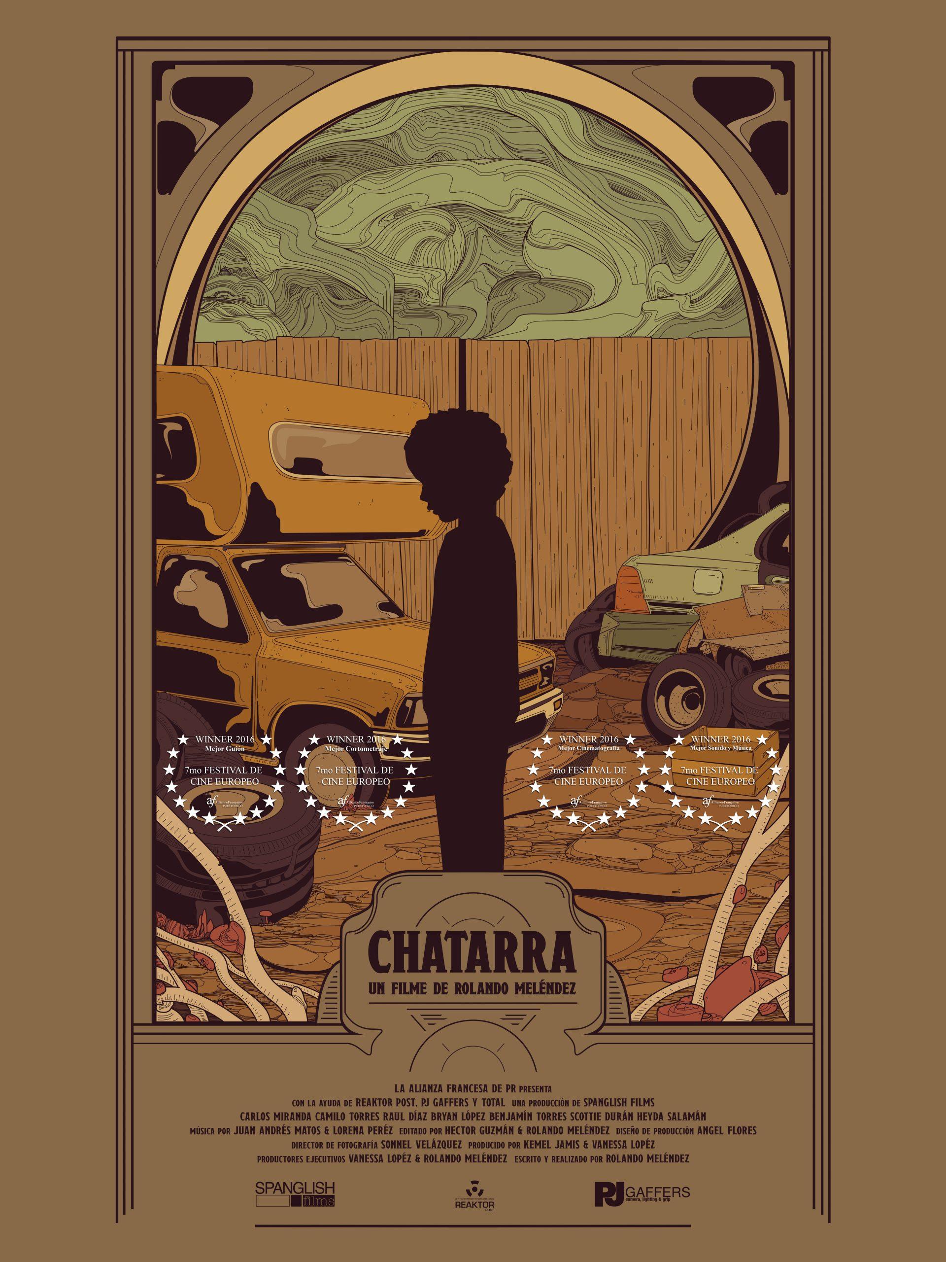 """""""Chatarra"""" es otro de los cortometrajes en programa."""