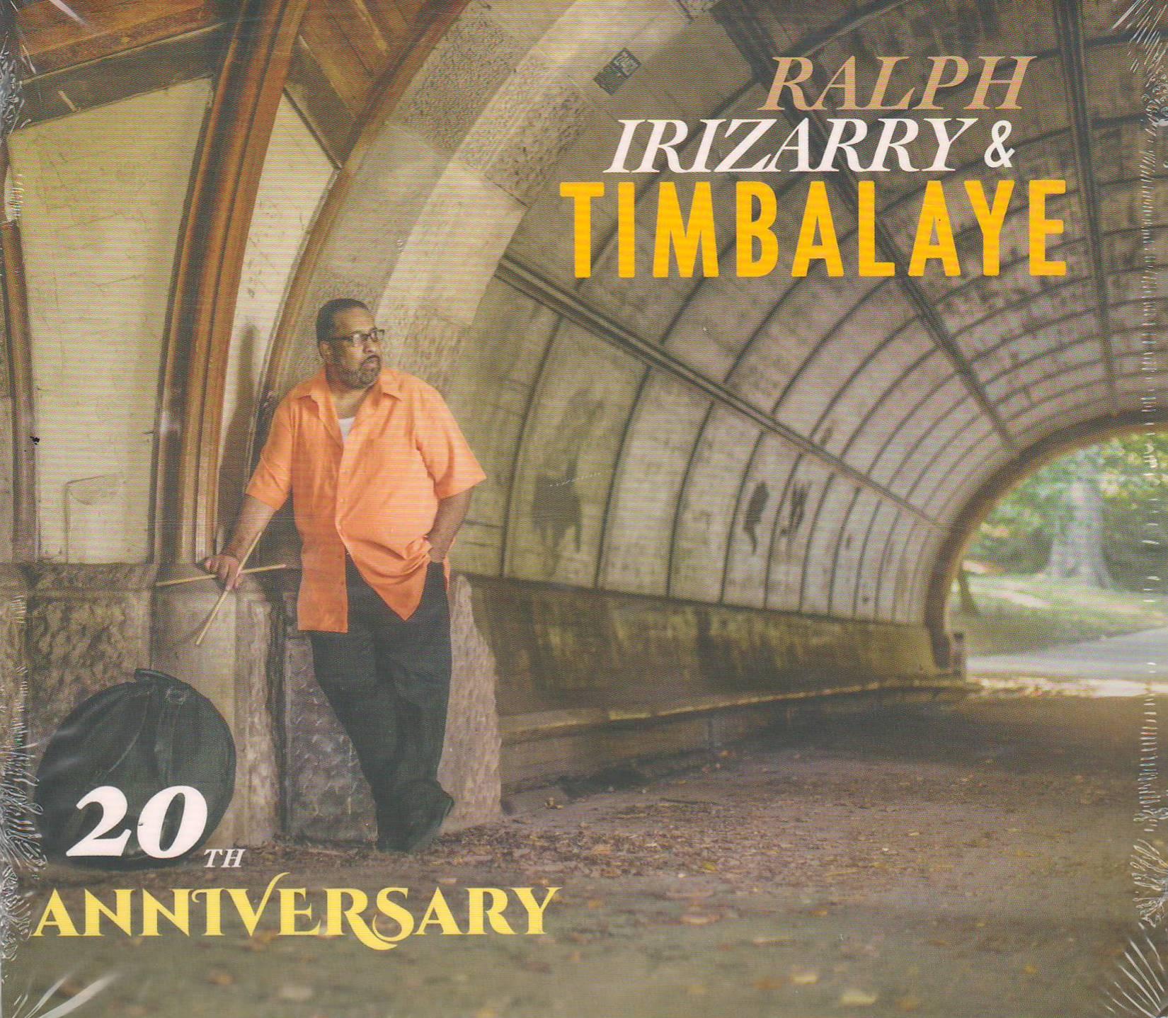Portada de la nueva producción de Ralph Irizarry y Timbalaye.