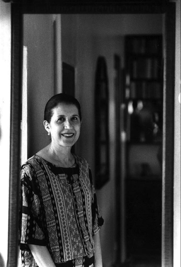 Ruth Hernández Torres en foto de 1997 tomada por Ricardo Alcaraz.