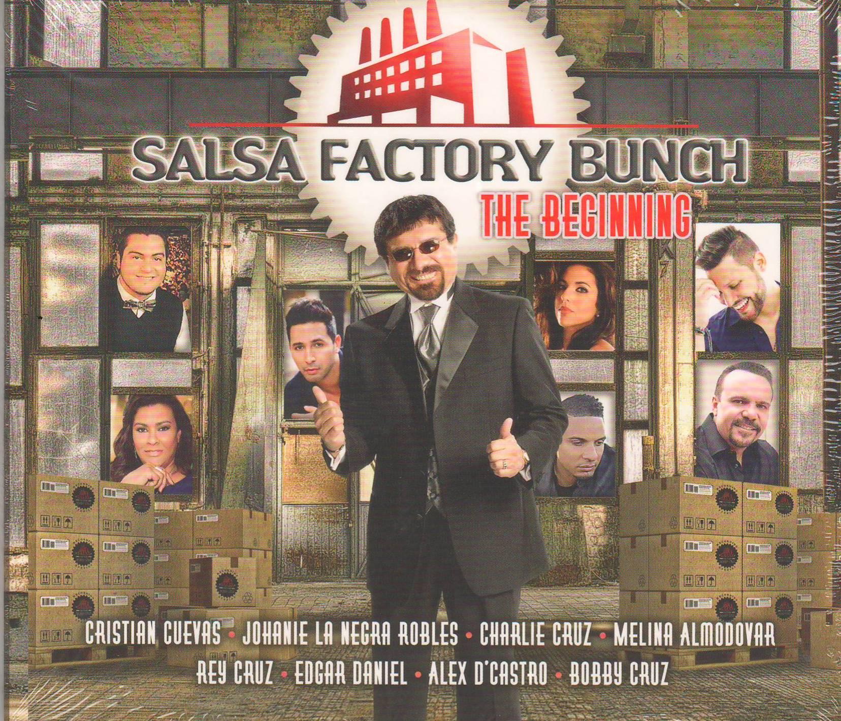 """""""Salsa Factory Bunch: The Beginning"""" es la nueva producción de Bobby Cruz. (archivo Fundación Nacional para la Cultura Popular)"""