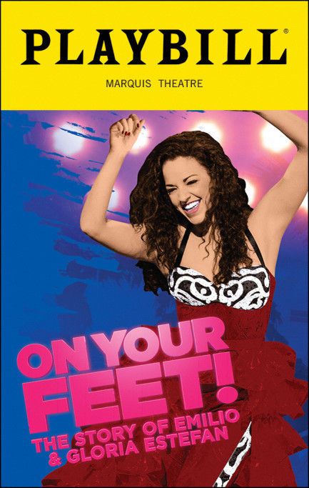 "El musical ""On Your Feet!"" se presenta en el Teatro Marquis de Broadway."