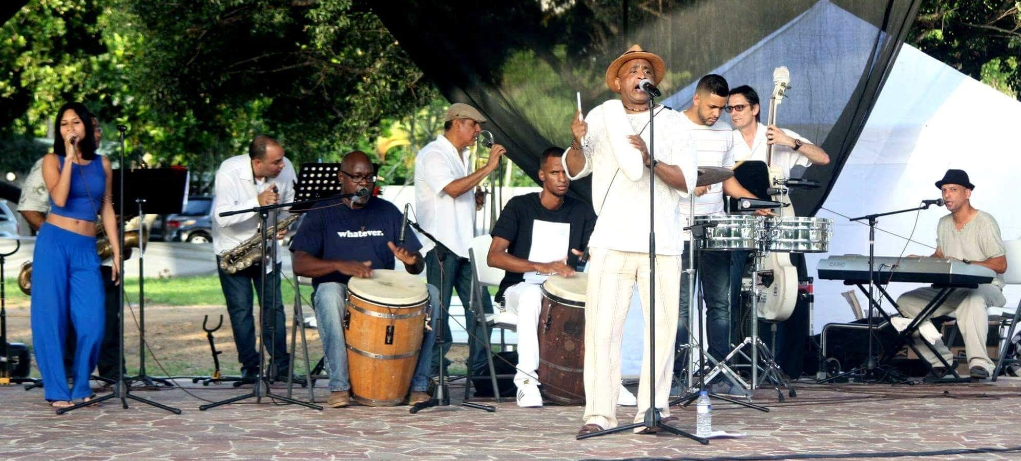 Tambores Calientes se originó en Loíza, inspirados por la obra de Cortijo e Ismael. (Foto suministrada)