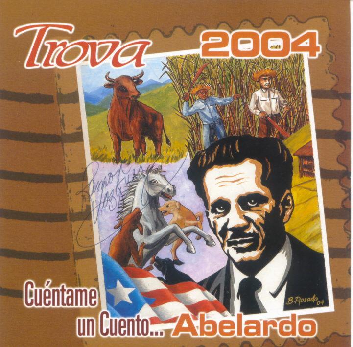 """La producción discográfica """"Cuéntame un cuento... Abelardo"""" fue editado en 2004. (archivo Fundación Nacional para la Cultura Popular)"""
